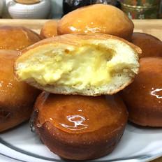 香草爆浆甜甜圈的做法