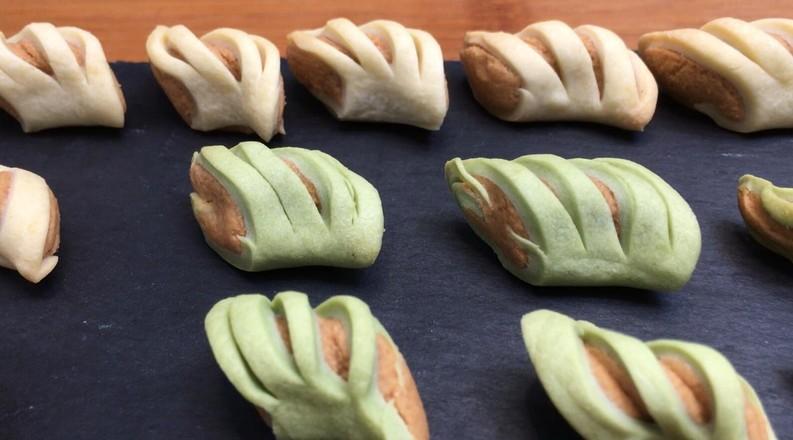 小小花生酥(原味、抹茶味),一口酥软香气扑鼻,入口即化酥掉渣。的做法