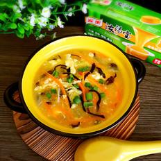 胡萝卜丝鸡蛋汤