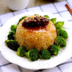 鲍汁海参捞饭