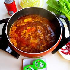 麻辣红油火锅