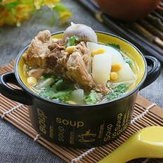 萝卜黄豆棒骨汤
