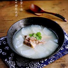 棒骨萝卜汤