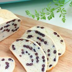 面包机版蜜豆面包