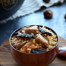 香菇排骨焖饭