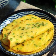 香葱黄金蛋饼