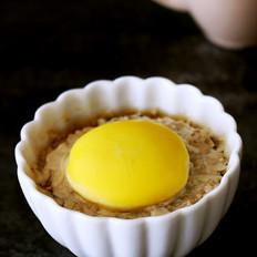 洋葱口蘑肉饼蒸蛋