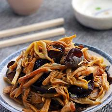 黄花菜木耳炒肉