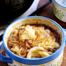 高汤炖白菜藕粉