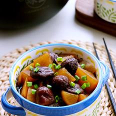 红烧香菇白萝卜