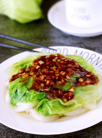 蚝油蒜蓉生菜的做法