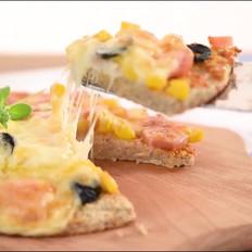 燕麦香蕉披萨