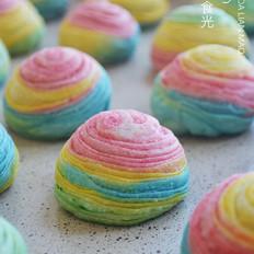 彩虹螺旋酥