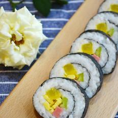日式简易寿司卷