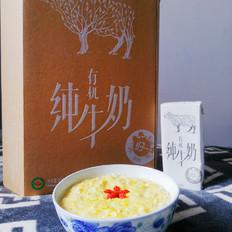 南瓜牛奶燕麦粥