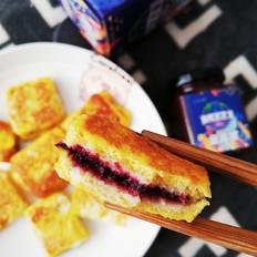 蓝莓西多士