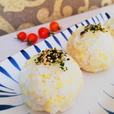 鲍鱼酱双米饭团