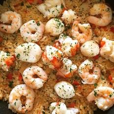 西班牙海鲜饭 Spanish Seafood Paella