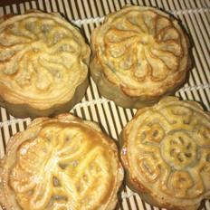 面包机版广式月饼