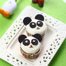 熊猫杯子蛋糕
