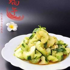 荆芥拌黄瓜