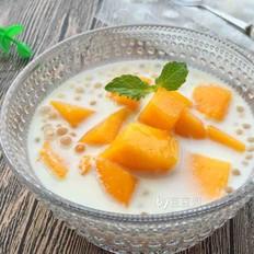 牛奶芒果西米露