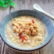 核桃燕麦粥