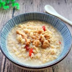 燕麦核桃粥