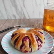 紫薯环形面包