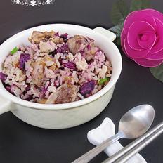 紫薯排骨焖饭