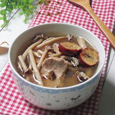苏泊尔茶树菇猪瘦肉汤