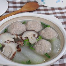 香菇冬瓜肉丸汤