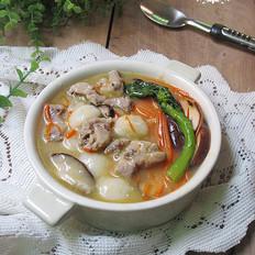 香菇排骨咸圆