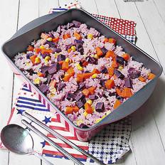 紫薯什锦米饭
