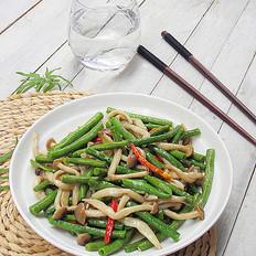 真姬菇炒豆角