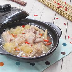 银耳鸭汤的做法