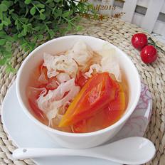雪耳冰糖炖木瓜