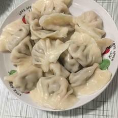 西芹猪肉水饺