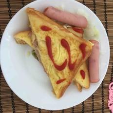 早餐煎面包片