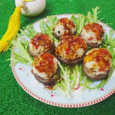 蘑菇酿饭团儿