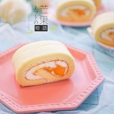 芒果流心蛋糕卷