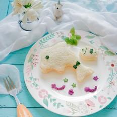 鲜虾黄瓜三明治