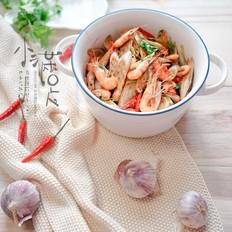 藕带炝河虾
