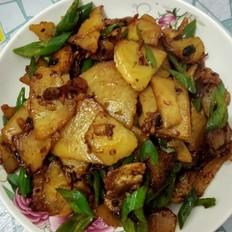 杭椒炒肉干锅土豆厉害的菜