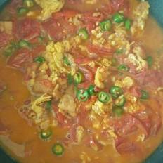 农家番茄炒鸡蛋