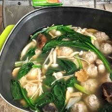 菌菇肉丸火锅