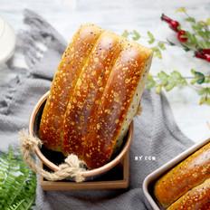 黑芝麻面包条---又香又软超级好吃