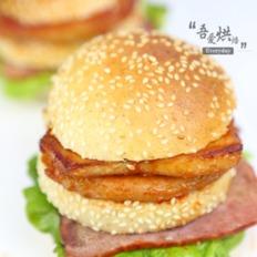 全麦猪扒汉堡
