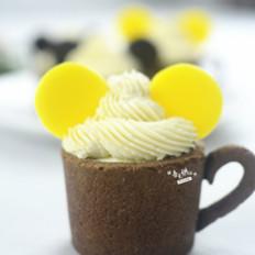Mickey慕斯杯子蛋糕
