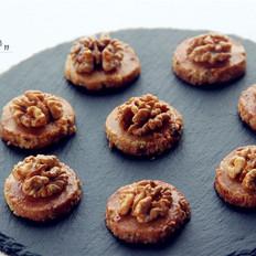 营养满分——焦糖核桃酥饼